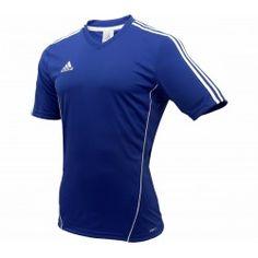 Adidas Estro 12 Jsy Ss Cobalt/Wht Reebok, Adidas, Cobalt, Ss, Polo Shirt, Mens Tops, Shirts, Fashion, Sports