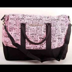 reduce from $99 Victoria's secret NEW Victorias Secret PINK lg duffel gym carry-on travel weekender bag VICTORIA'S Victoria's Secret Other