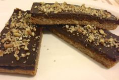 Chocolate Pecan Bars – low carb and grain free