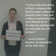 Jessica Horton - Our Business Administration Apprentice