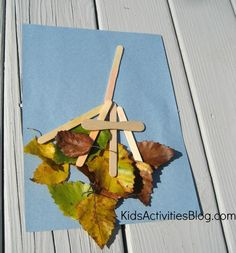 Do the beautiful colors of autumn have you searching for creative fall crafts for kids? If so, then this leaf craft may be just what you were looking for.