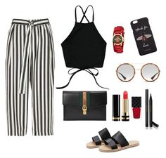 """""""Untitled #18"""" by timiwg on Polyvore featuring River Island and Gucci"""