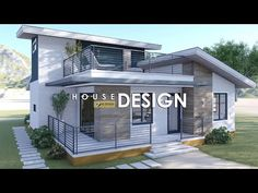 House Layout Plans, House Layouts, Best Small House Designs, Facade Design, Facade House, Minimalist Home, Home Deco, Deck, Cottage