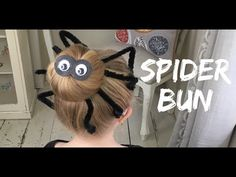 Little Baylee has joined us this week, to help out with our third halloween hairstyle, as we wait for the spookiest day of the year! This DIY hair tutorial i...