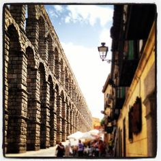 Segovia, lived here once upon a time