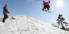 Let Freedom Shred - Park Shoveler takes matters into her own hands as she goes airborne.