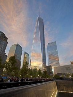 Skidmore, Owings & Merrill : SOM : One World Trade Center : 1WTC : New York : USA