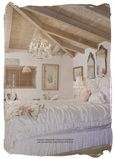 Romantic Shabby Chic Bedroom Decor Ideas..