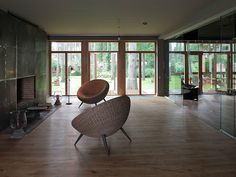 "Архитектурное бюро Шаболовка - дизайн интерьера загородного дома ""Pinetree House""."