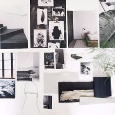 Moodboard for a dark and enticing dream bedroom via @aprilandmay for Dutch Magazine @vtwonen and Dutch furniture company @aupingnl // Can't wait to see the final result! // #bedroom #moodboard #dutch #design #interior #furniture #magazine #aprilandmay #vtwonen #auping #style #styling #inspiration