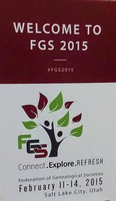 Carolina Girl Genealogy: My First Day at FGS 2015~Learning, Socializing and...