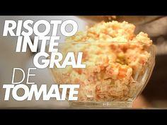 Risoto de Tomate – Frango com Batata Doce