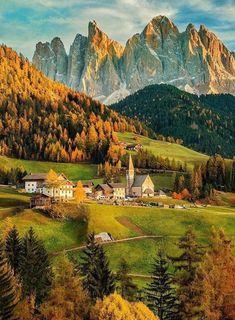 Val di Vunes, Italy