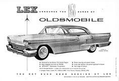 Oldsmobile Lex Motor Car Autocar Advert 1957