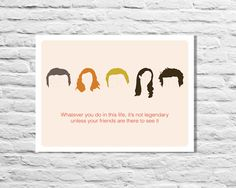 Typography Print How I Met Your Mother Quote by NewFrontPRINTS, $12.00
