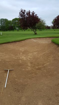 This green keeper says rakes in....