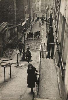 Montmartre, 1951, Edouard Boubat.
