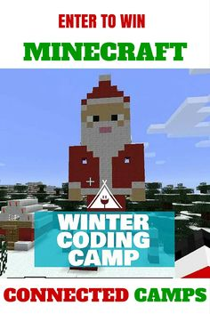 Kids can learn to code in Minecraft with Connected Camps. Enter to win a free Winter Minecraft Coding Camp for your child. Holiday Gift Guide, Holiday Gifts, Enter To Win, Camping World, Camping With Kids, Promote Your Business, Top Gifts, Business Website, Willis Tower