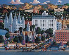 Salt Lake City by Eric Dowdle