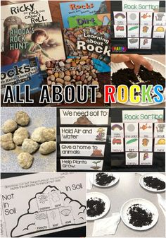 Rocks Rock! All About Earth's Materials - Sharing Kindergarten