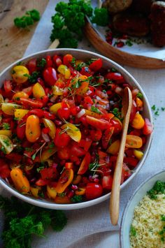 Barbecue Side Dishes, Happy Foods, Bbq Grill, Good Food, Food And Drink, Veggies, Healthy Life, Lunch, Healthy Recipes