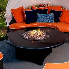 The luster and depth of Absolute Black granite elevates the design of any outdoor space.