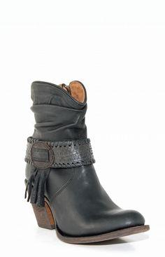 Cuadra Black Python Harness Boots #CU026 - Google-søk