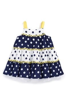 Little Me Sleeveless Sundress (Baby Girls) available at #Nordstrom