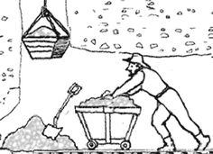 klondike gold rush coloring pages - photo#3