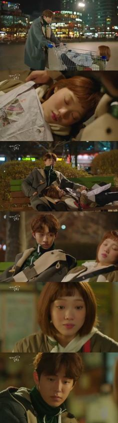 "[Spoiler] ""Weightlifting Fairy Kim Bok-joo"" Nam Joo-hyeok moves drunk Lee Seong-kyeong in a cart @ HanCinema :: The Korean Movie and Drama Database"