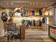 """Go Inside The New Nigel Cabourn Store – """"The Army Gym"""" London. http://www.selectism.com/2014/09/29/inside-the-new-nigel-cabourn-store-london/"""