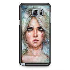 The Witcher Ciri TATUM-11149 Samsung Phonecase Cover Samsung Galaxy Note 2 Note 3 Note 4 Note 5 Note Edge