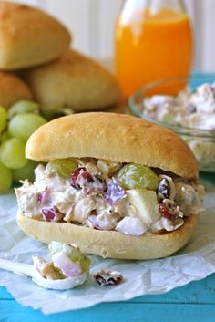 Use Greek yogurt to make this chicken salad.