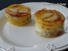 La cuisine de Davy: Mini gratin de pomme de terre à l'italienne