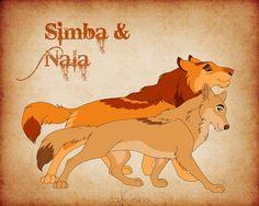 Western Disney - Simba + Nala by daKisha on DeviantArt Lion King Funny, Lion King 1, Lion King Fan Art, Disney Lion King, Simba Rey Leon, Simba And Nala, Anime Lion, Anime Wolf, Disney Drawings