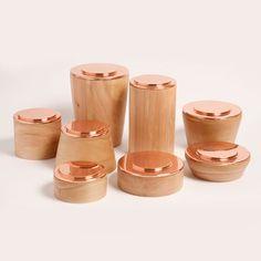 Modular Copper Storage Jars by Bravo! | MONOQI