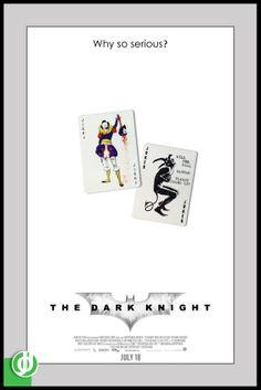THE DARK KNIGHT. Poster designed by Jidé.