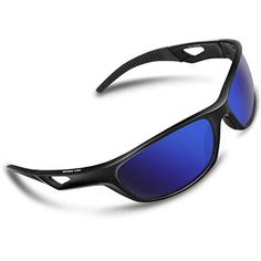 58e3b8572a RIVBOS Polarized Sports Sunglasses Driving Glasses Shades for Men TR90  Unbreakable Frame Shades For Men