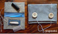 tobacco pouch - diy tutorial