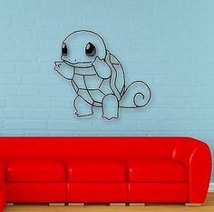 Wall Stickers Vinyl Decal Pokemon Anime for Kids Baby Room Nursery (ig1096)