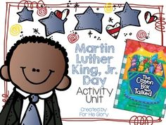This+activity+unit+is+perfect+for+January!+The+Crayon+Box+that+Talked+is+a+great+book+to+read+to+complement+this+activity+unit+and+facilitate+discussion+among+your+students.+The+story+illustrates+for+young+minds+that+every+color+counts!+++Activity+Unit+Includes:+Martin+Luther+King,+Jr.
