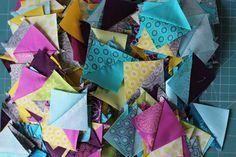 half square triangles | by Katarina Roccella