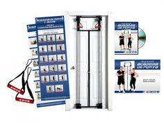 Academia de Porta + DVD Guia de Exercícios - Kikos AB3306 com as melhores condições você encontra no Magazine Jbtekinformatica. Confira!