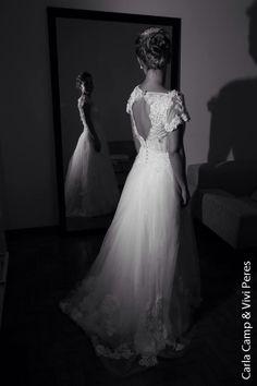 Nossa fada linda Analu Moraes!  Wedding Dress Atelier Carla Gaspar.