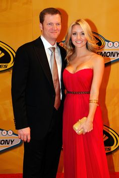 Dale, Jr. and Amy Reimann....Dec. 2011, NASCAR Sprint Cup Series Banquet - Red Carpet