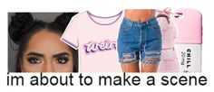 """""""Don'tBother😊😭"""" by purplequeen04 ❤ liked on Polyvore featuring Valfré and adidas"""