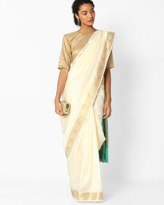 Buy Sarees, Designer Sarees, Party Wear Sarees, Lehenga Sarees online | 100% Handpicked | Ajio