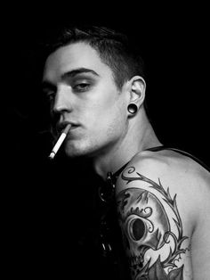 hot guys with tattoos  | ... f hot men monday men this week is model josh beech hot hot hot