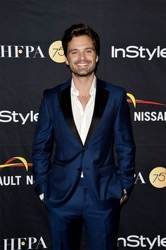 Sebastian Stan attends the HFPA & InStyle annual celebration of 2017 Toronto International Film Festival at Windsor Arms Hotel on September 9, 2017 in Toronto, Canada.