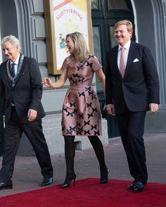 Máxima de Holanda, llena de halagos y sonrisas